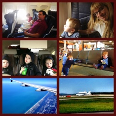 Flying to Disney May 2012